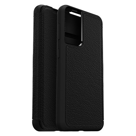 OtterBox Strada Series Samsung Galaxy S21 Plus Wallet Case - Black