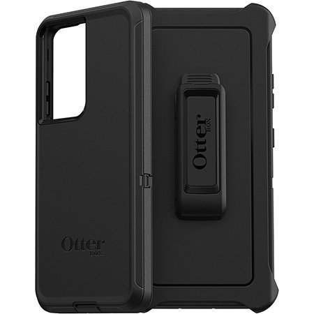 OtterBox Defender Samsung Galaxy S21 Ultra Tough Case - Black