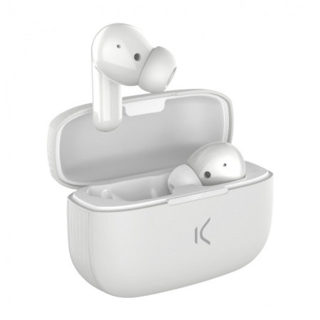 Ksix TrueBuds 2 True Wireless Earphones With Microphone - White