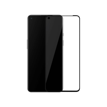 Official OnePlus 9 3D Tempered Glass Screen Protector - Black