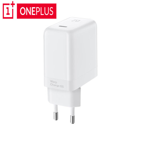 Official OnePlus Warp Charge 65W Fast Charging USB-C Wall Charger