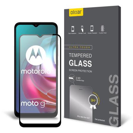 Olixar Motorola Moto G10 Tempered Glass Screen Protector