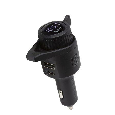 Scosche FM Transmitter W/ Fast Charging 18W PD USB-C & 12W USB-A Ports