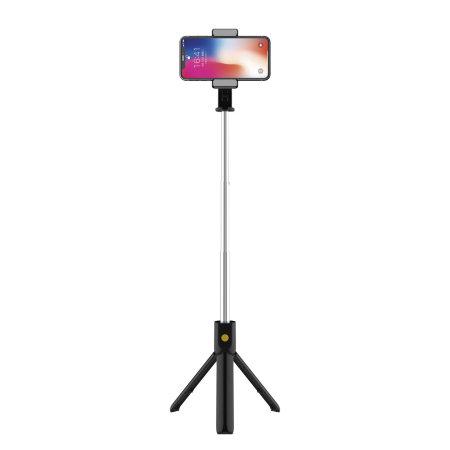Ksix Selfie Tripod Action Cam & Smartphone Remote Control - Black