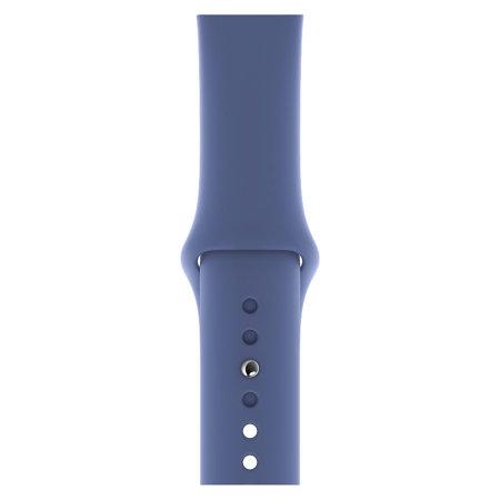 Official Apple Watch Sport Band 44mm - Linen Blue