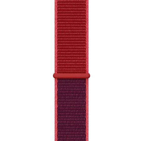 Official Apple Watch Sport Loop Strap 44mm - (PRODUCT) Red