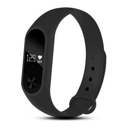 Aquarius AQ112 Fitness Tracker & Heart Rate Monitor - Black