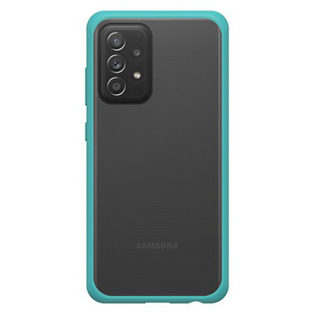 OtterBox React Samsung Galaxy A72 Ultra Slim Protective Case - Blue