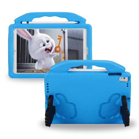 Olixar iPad Air 2 2014 2nd Gen. Child-Friendly Handle Case - Blue