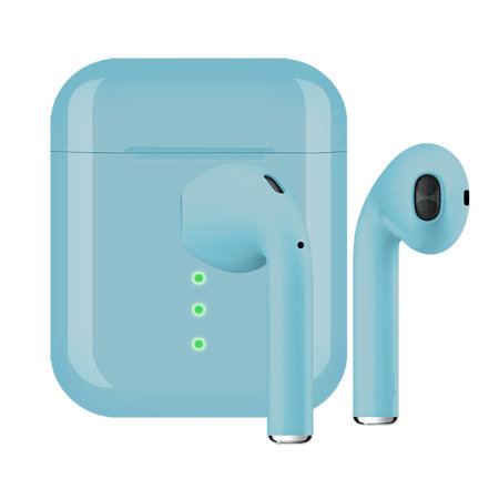 FX True Wireless Earphones With Microphone - Blue