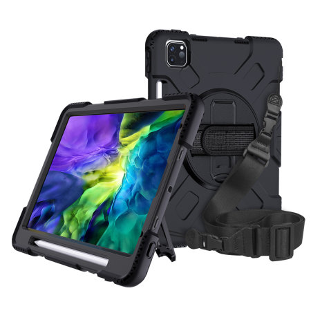 "Olixar iPad Pro 11"" 2020 2nd Gen. Tough Armour Case - Black"