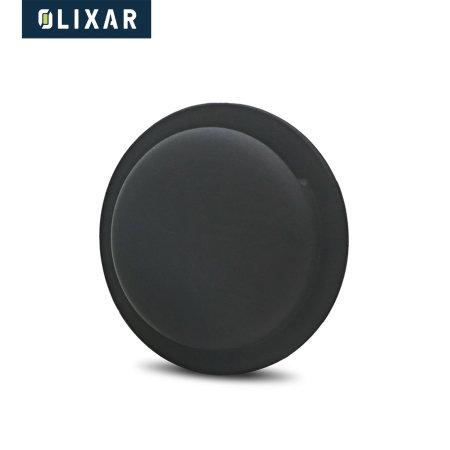 Olixar Apple AirTags Adhesive Silicone Pocket 4 Pack - Black