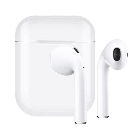 FX True Wireless Earphones With Microphone - White