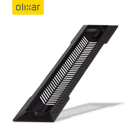 Olixar PS4 Slim Vertical Cooling Stand - Black