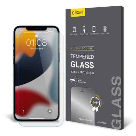 Olixar iPhone 13 Tempered Glass Screen Protector