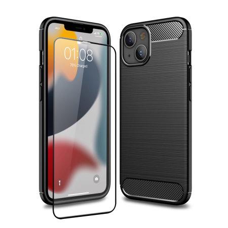 Olixar Sentinel iPhone 13 mini Case and Glass Screen Protector