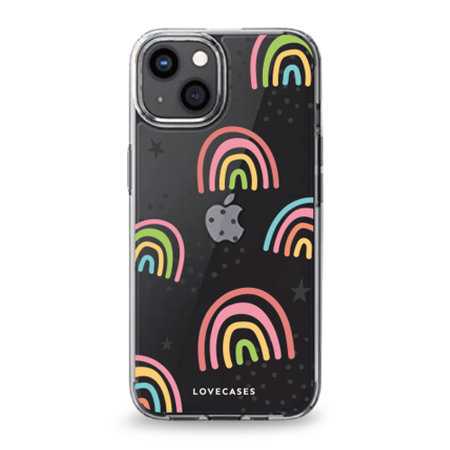 LoveCases iPhone 13 Gel Case - Abstract Rainbow