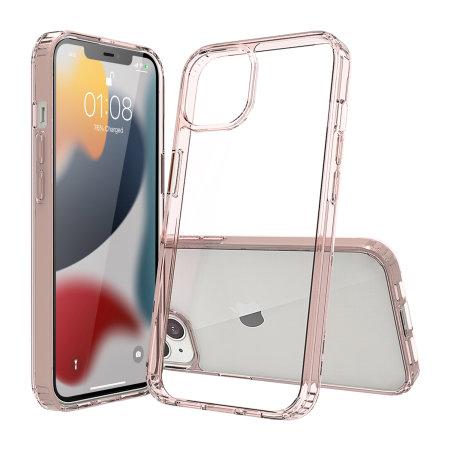 Olixar Exoshield iPhone 13 Bumper Case - Rose Gold