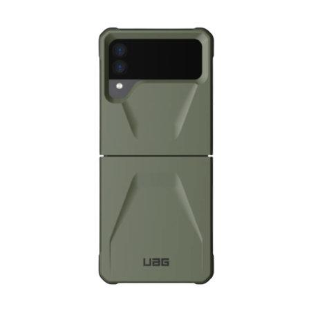 UAG Civilian Samsung Galaxy Z Flip 3 Tough Case - Olive