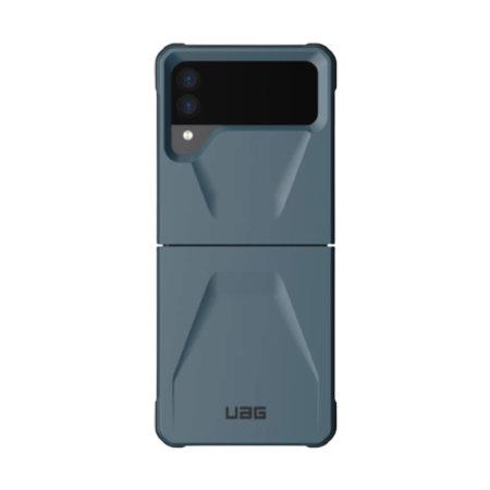UAG Civilian Samsung Galaxy Z Flip 3 Tough Case - Mallard Blue