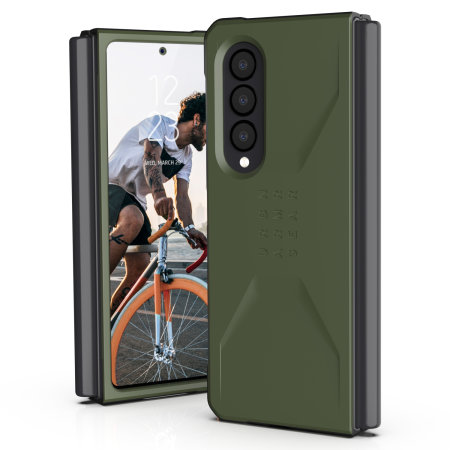UAG Civilian Samsung Galaxy Z Fold 3 Protective Case - Olive