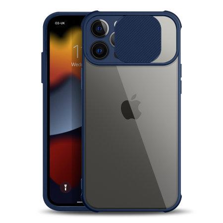 Olixar iPhone 13 Pro Max Camera Privacy Cover Case - Blue