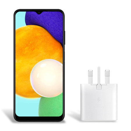 Official Samsung Galaxy A03s 25W PD USB-C UK Wall Charger - White