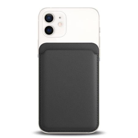 Olixar MagSafe Compatible Card Wallet for iPhone 12 Series - Black