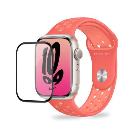 Olixar Apple Watch Series 7 Soft Full Glass Screen Protector - 45mm