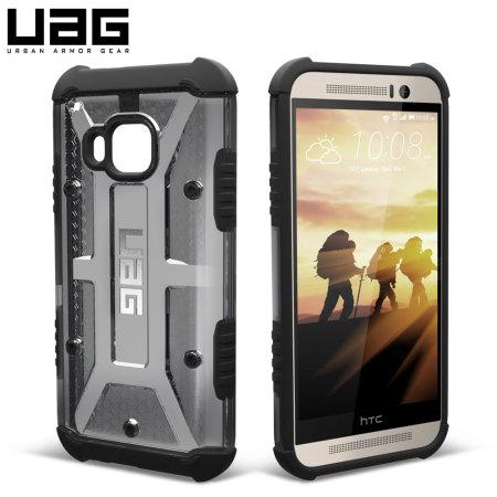 UAG Ash HTC One M9 Protective Case - Smoke Black