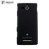 Metal-Slim Graphite Style Case for the Sony Xperia U - Grey 1