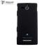 Coque Sony Xperia U Metal-Slim Graphite Style - Noire 1