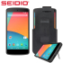 Seidio SURFACE with Metal Kickstand and Holster for Nexus 5 - Black 1