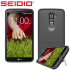 Seidio SURFACE with Metal Kickstand for LG G2 - Black 1