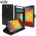 Orzly Multi-Functional Mirror Wallet Case for Note 3 - Black 1