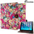 Encase Vintage Flower iPad Air 2 Case - Pink 1