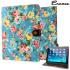 Encase Vintage Flower iPad Air 2 Case - Light Blue 1