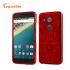 Cruzerlite Bugdroid Circuit Nexus 5X Case - Red 1