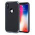Funda iPhone X Olixar X-Duo - Fibra Carbono Gris 1