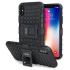 Olixar ArmourDillo iPhone X Protective Case - Black 1