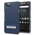 Seidio SURFACE BlackBerry KEYone Case & Metal Kickstand - Blue / Grey 1