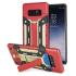 Olixar X-Trex Galaxy Note 8 Rugged Card Kickstand Case - Red / Gold 1