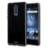 Olixar FlexiShield Nokia 8 Gel Case - Solid Black 1