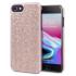 LoveCases Luxuriöse Kristall iPhone 8 / 7 / 6S / 6 Hülle - Rosen Gold 1