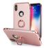 Coque iPhone X Olixar X-Ring – Or Rose 1