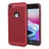Coque iPhone 8 / 7 Olixar MeshTex – Rouge cuivré 1