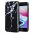 LoveCases Marble iPhone 8 / 7 Case - Black 1