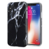 LoveCases Marble iPhone X Case - Black 1