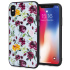 LoveCases Floral Art iPhone X Case - Blue 1