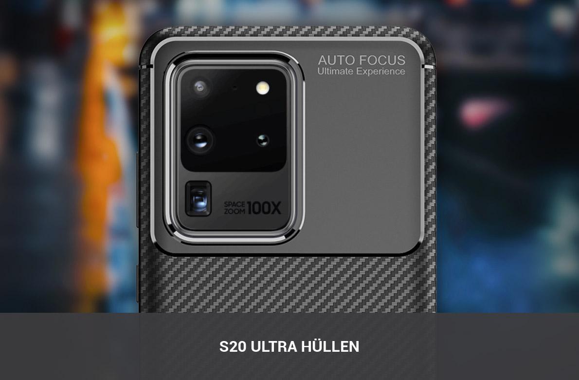 Samsung Galaxy S20 Ultra Hüllen